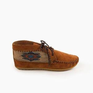 Minnetonka El Paso moccasin ankle booties